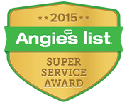 Super Service Award to Barnes Piano, LLC from Angie's List